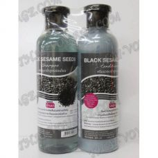 Shampoo and hair conditioner with an extract of black sesame - TV000884