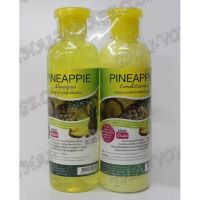 Shampoo and hair conditioner with an extract of pineapple - TV000886