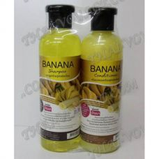 Shampoo and hair conditioner with an extract of banana - TV000887