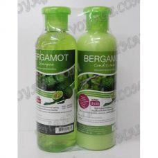 Shampoo und Haarbalsam mit einem Extrakt aus Bergamotte - TV000888