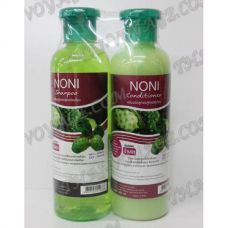 Shampoo and hair conditioner with an extract of noni - TV000889