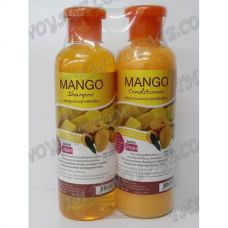 Shampoo and hair conditioner with an extract of mango - TV000892