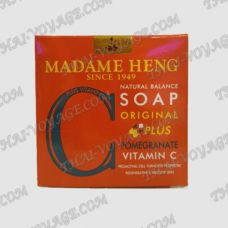 Pomegranate soap Madame Heng - TV000903