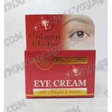 La crema per la pelle intorno agli occhi con collagene, elastina e vitamina E Nature Republic - TV000936