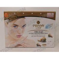 Pflegende Gesichtsmaske mit Schneckenschleim Pibamy - TV000940
