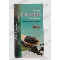 Капсулы для похудения Black Pepper, Prick Tai Dam Kongka Herb - TV000943