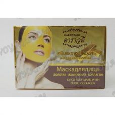 Face mask with collagen gold pearl Darawadee - TV000964