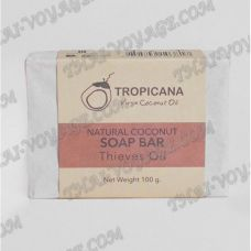 Natural coconut soap bar Tropicana - TV000979