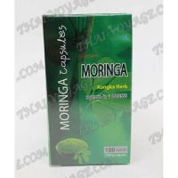 Capsules for cleansing the body of toxins Moringa Oleifera Kongka Herb - TV000997