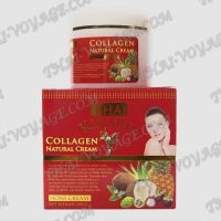 Lifting face cream with collagen and Noni juice Thai Kinaree - TV001012