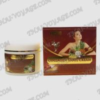 Snail face cream with collagen Thai Kinaree - TV001013