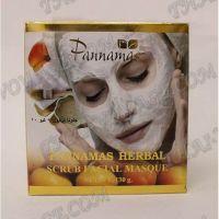 Maschera Scrub a base di erbe per viso e corpo Pannamas - TV001026