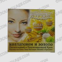 Nourishing and firming face cream with gold and collagen Darawadee - TV001037