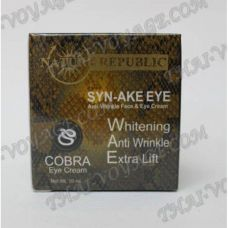 Anti-aging cream for the skin around eyes Cobra Syn-Ake Nature Republic - TV001055