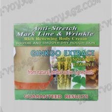 Body cream for stretch marks and wrinkles with an extract of Ginkgo biloba K. Brothers - TV001108