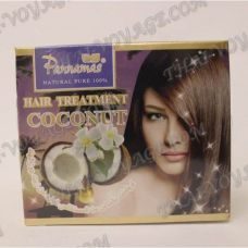 Mask for hair with coconut oil cold pressed Pannamas - TV001126