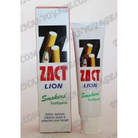 Whitening toothpaste for smokers Zact Lion - TV001143