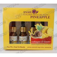 Snail serum with collagen, elastin and pineapple enzymes - TV001171