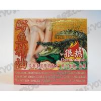 Crocodile ointment to relieve muscle pain Darawadee - TV001233