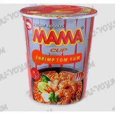 エビトムヤムファーストフード付き麺のスープ - TV001251
