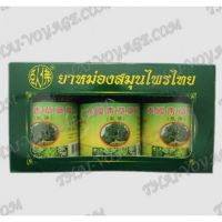 Thai Herbal Balm long green action Phoyok - TV001266