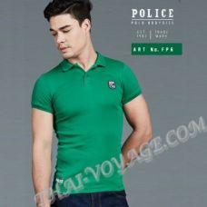 Men's t-shirt Police Art No.FP6 Polo - TV001273