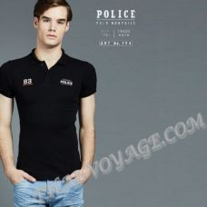 Men's t-shirt Police Art No.FP4 Polo - TV001275