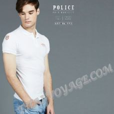 Men's t-shirt Police Art No.FP3 Polo - TV001276