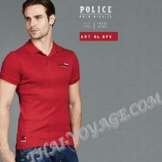 Мужская футболка Police Art No.BP5 Polo - TV001284