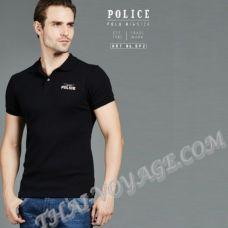 Мужская футболка Police Art No.BP2 Polo - TV001287