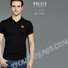 Men's t-shirt Police Art No.BP1 Polo - TV001291