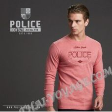 Men's t-shirt Police Art No.All ft8 Top Dyed Collection - TV001296