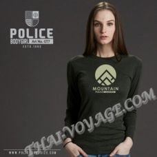 Женская футболка Police Art No.GT7 Top Dyed Collection - TV001300