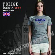 Женская футболка Police Art No.G353 - TV001308