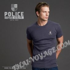 Мужская футболка Police Art No.FT4 Top Dyed Collection - TV001309