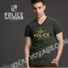 Men's t-shirt Police Art No.BT7 Top Dyed Collection - TV001314
