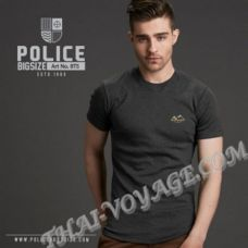 Мужская футболка Police Art No.BT5 Top Dyed Collection - TV001316