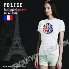 Donna t-shirt di Polizia Art No.G352 - TV001317