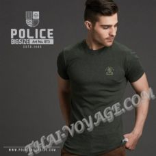 Мужская футболка Police Art No.BT3; Art No.XT3 Top Dyed Collection - TV001319