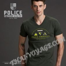 Men's t-shirt Police Art No.XT6 Top Dyed Collection - TV001322