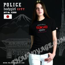 Donna t-shirt di Polizia Art No.G350 - TV001324