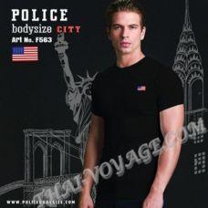 Мужская футболка Police Art No.F563 - TV001327