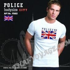 Мужская футболка Police Art No.F562 - TV001328