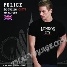 Herren T-shirt Police Art.F559 - TV001331