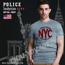Herren T-shirt Police Art.F557 - TV001333