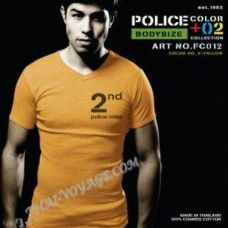 Shirt Police Art No.FC012 Color Collection - TV001336
