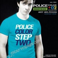 Shirt Police Art No.FC009 Color Collection - TV001339