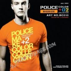Shirt Police Art No. BC010 Color Collection - TV001343