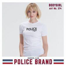 Women's T-shirt Police Art No. GC007 Color Collection - TV001351