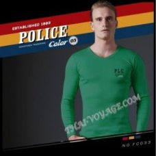 Мужская футболка Police Art No. FC033 Color Collection - TV001352
